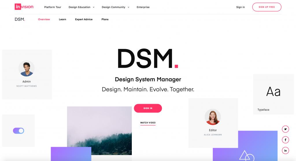 InVision DSM